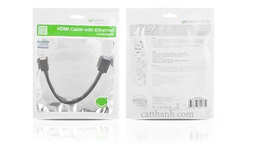 Cáp nối dài mini HDMI to HDMI 20cm Ugreen UG-20137