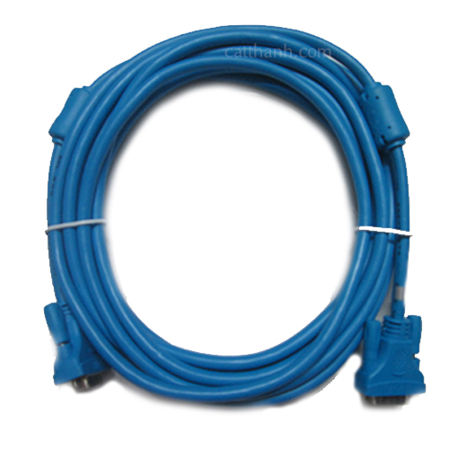 Cáp VGA 5m xanh FoxDigi BNL FDBNL5