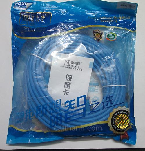 Cáp VGA 15m xanh FoxDigi BNL FDBNL9