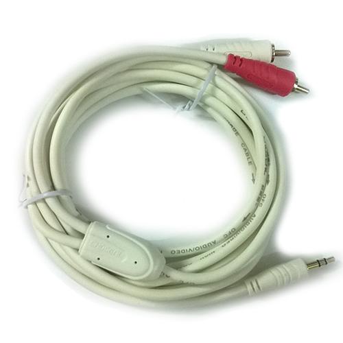 Cáp audio 3.5mm ra 2 đầu RCA 3m  FoxDigi Choseal Q562B