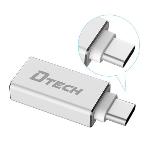 Đầu chuyển đổi type C to USB 3.0 dtech T0001