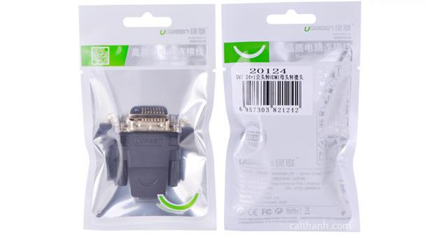 Đầu chuyển đổi DVI 24+1 to HDMI Ugreen UG-20124