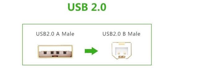 Cáp máy in USB 1,5m Ugreen UG-10350 đầu cáp mạ vàng