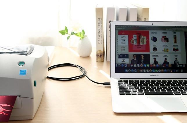 Cáp máy in USB 5m Ugreen UG-10352 đầu cáp mạ vàng