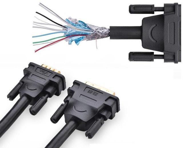 Cáp chuyển DVI 24+5 sang VGA dài 3m Ugreen UG-11618