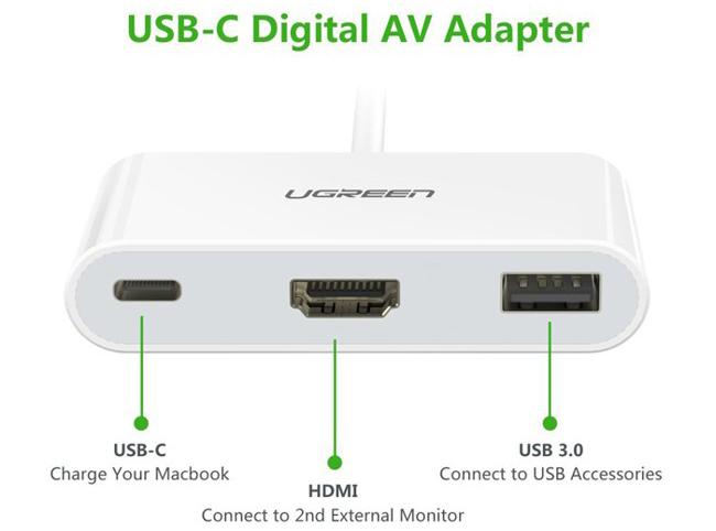 cáp usb Type C sang HDMI