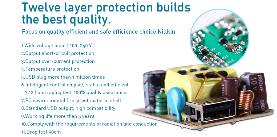 Củ sạc Ipad Nillkin 2.0A NK01