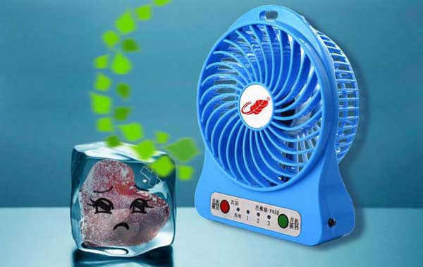quạt sạc mini Fan Foxdigi