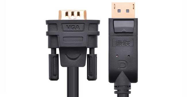 Cáp chuyển Displayport sang VGA 3M Ugreen UG-10236