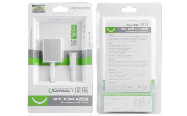 Cáp chuyển đổi Mini Displayport to VGA Ugreen UG-10403
