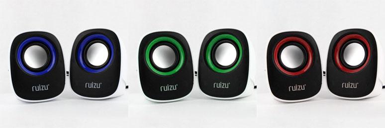 Loa mini Ruizu RS-380: loa máy tính 2.0