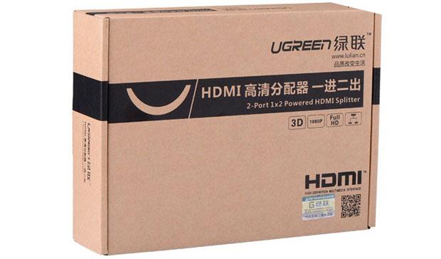 Bộ chia cổng HDMI 1 ra 2 Ugreen UG-40201