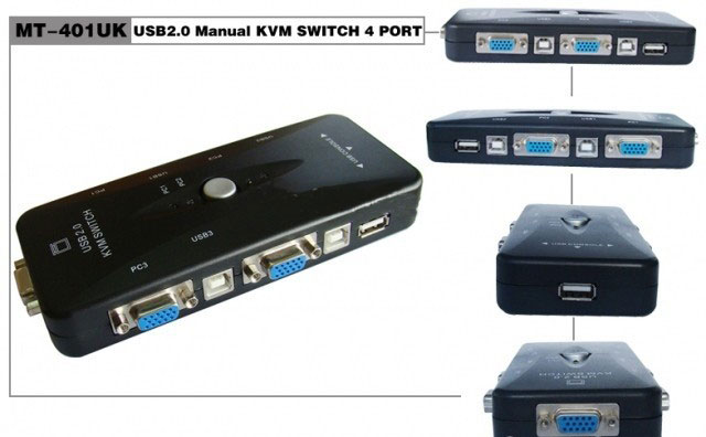 KVM Switch 4 port