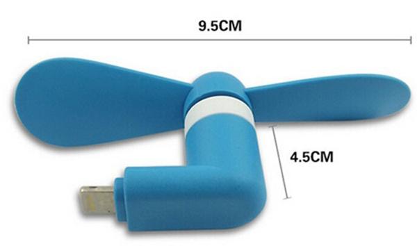 Quạt mini đồ chơi cho điện thoại smartphone Q01