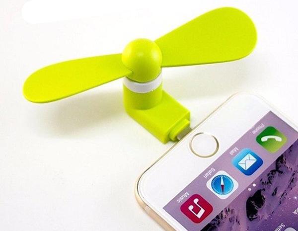quạt đồ chơi smartphone
