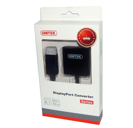 Cáp chuyển đổi DisplayPort sang HDMI Unitek Y-5118DA