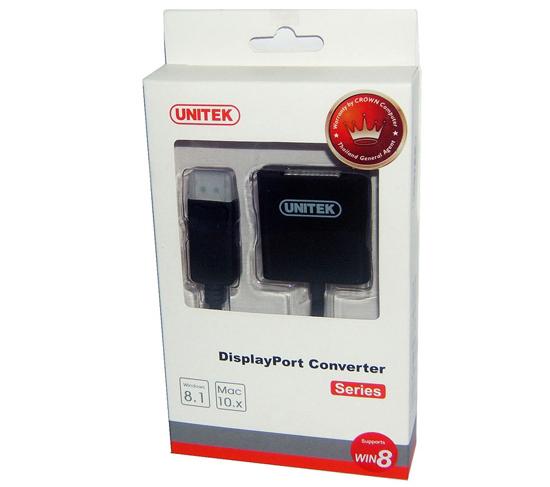 Cáp chuyển đổi DisplayPort sang DVI Unitek Y-5118AA