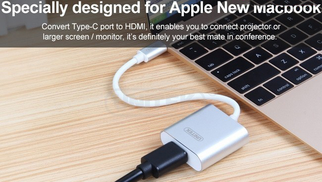 Cáp chuyển USB 3.1 Type C sang HDMI Unitek Y-6309