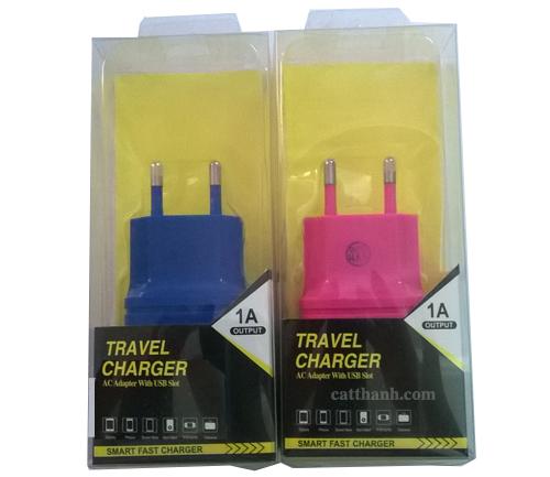 Củ sạc điện thoại 1A Travel charger Foxdigi TC1A