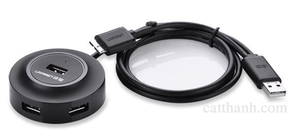 Bộ chia USB 2.0 4 cổng có hỗ trợ OTG Ugreen UG-20275