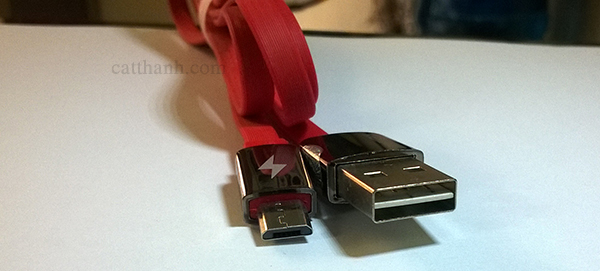 Cáp sạc micro 1m Remax FD625