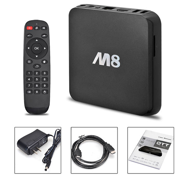 TV Box Android Foxdigi M8S