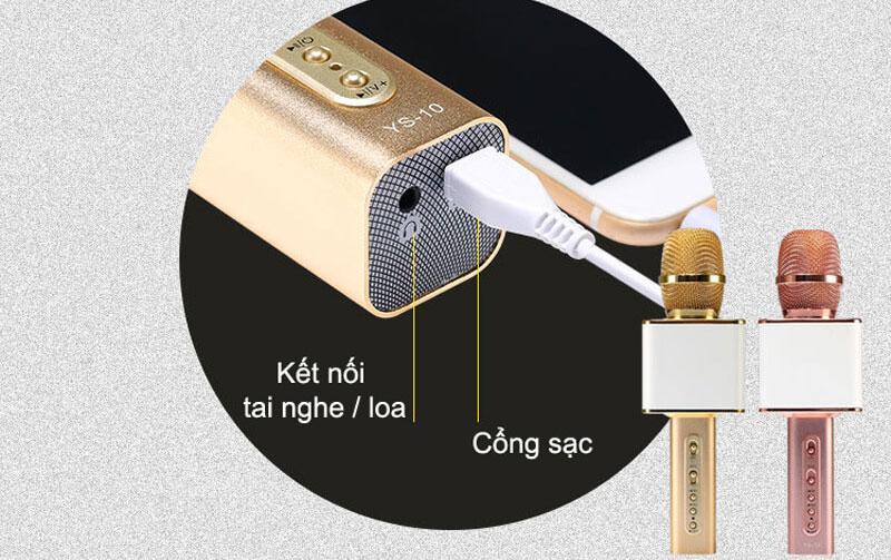 Micro karaoke bluetooth kèm loa Ys 10