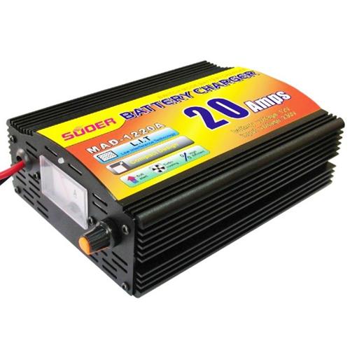 Sạc ắc quy tự động 20A 12v/24V Foxdigi 2281