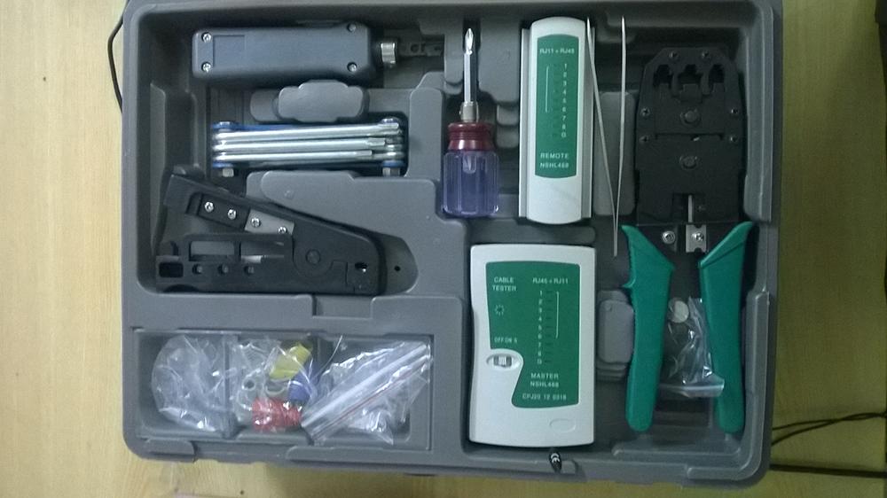 Bộ chuyên dụng cụ làm mạng - Bộ dụng cụ sửa chữa mạng