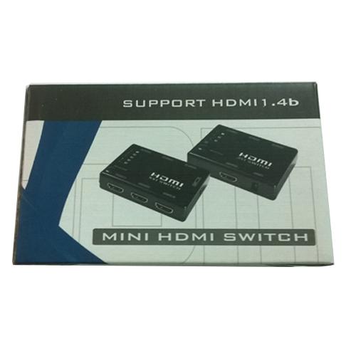 Bộ chuyển đổi HDMI 3 vào 1 ra MT-SW301S KVM Switch