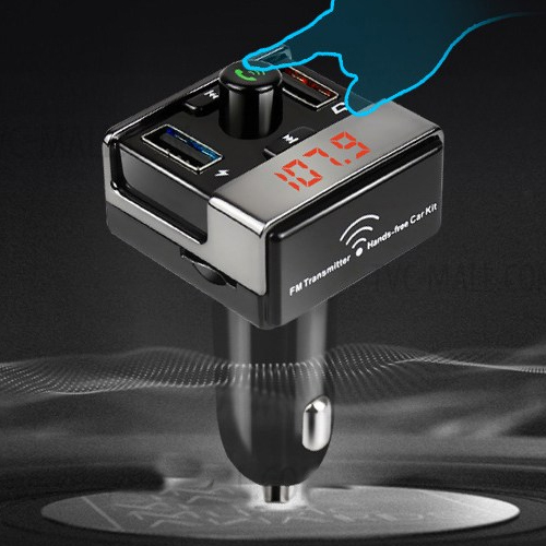 Tẩu kết nối bluetooth cho Oto Foxdigi A7