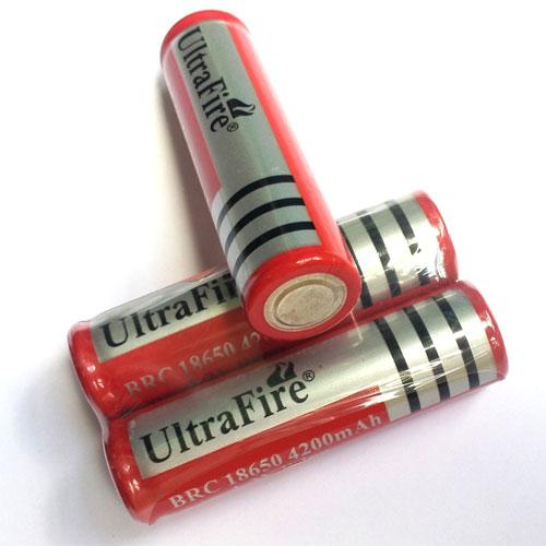 Pin sạc Ultrafire 4200mAh 4.2V BRC18650