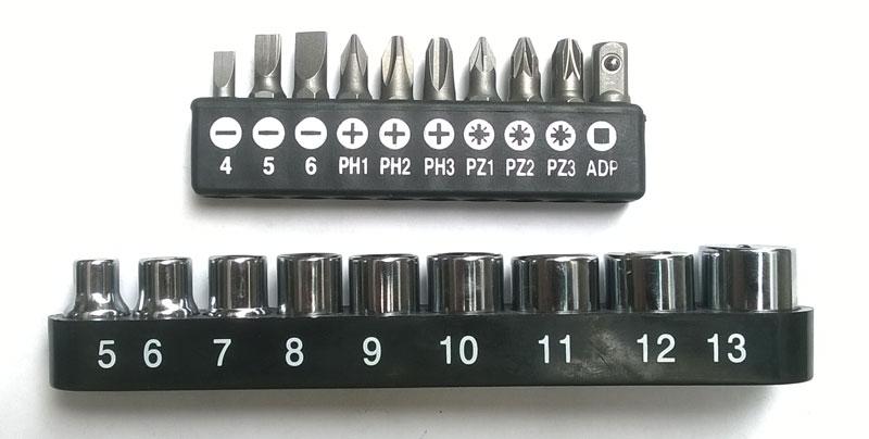 Bộ tua vít đa năng 19 món hình chữ T Foxdigi FD220