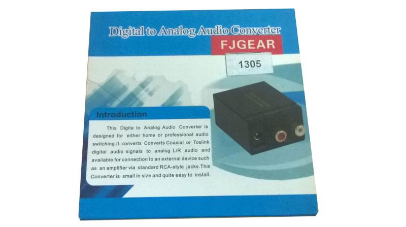 Bộ chuyển đổi quang OPTICAL sang RCA Foxdigi FD1305