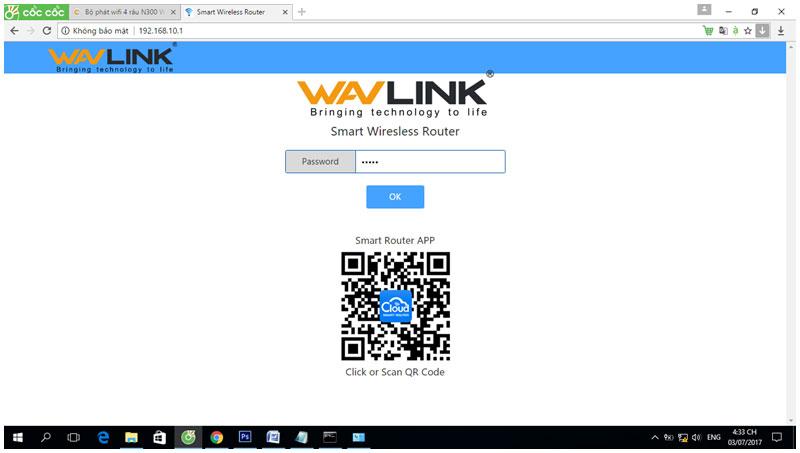 Bộ phát wifi 4 râu N300 WAVLINK 529R2
