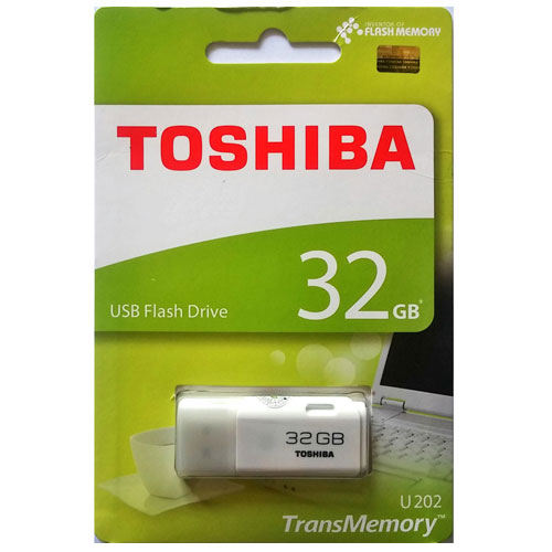 Usb 32GB Toshiba trắng TS32