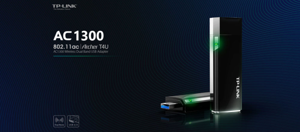 USB thu wifi TP-Link AC1200 - Archer T4U