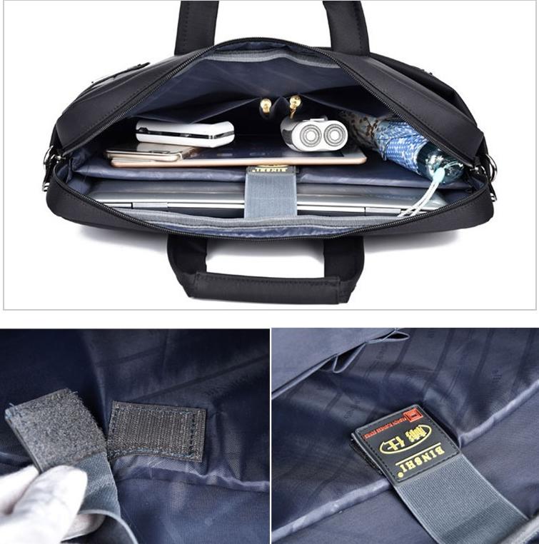 Cặp laptop binshi 616-15 : Túi xách máy tính 15 inch