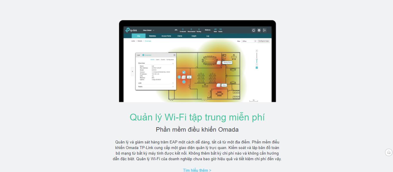 Bộ phát wifi gắn trần chuẩn N tốc độ 300Mbps TP-link EAP110
