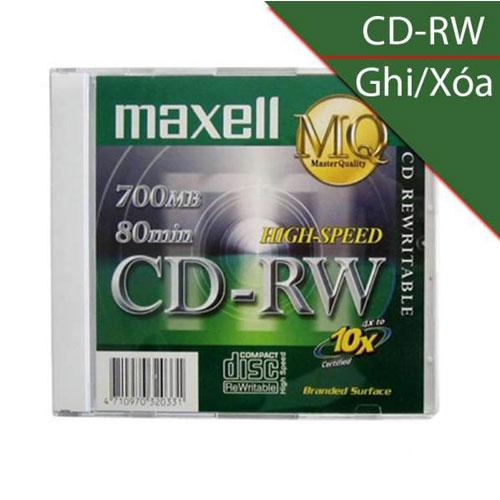 Đĩa CD-RW Maxell