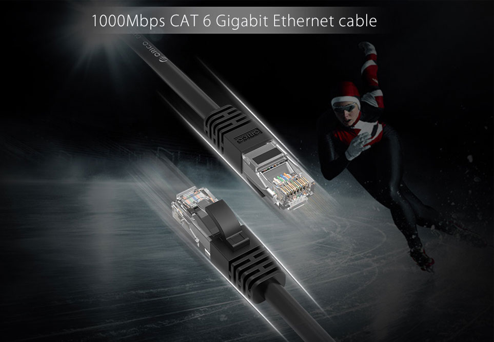 Cáp mạng Cat6 UTP Orico 2m PUG-C6-20