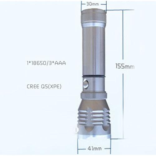 Đèn pin siêu sáng Foxdigi SY 901 - bóng đèn