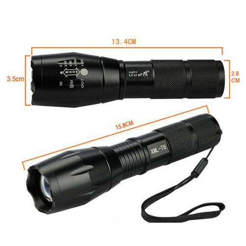 Đèn pin Ultrafire A100 - Đèn pin siêu sáng