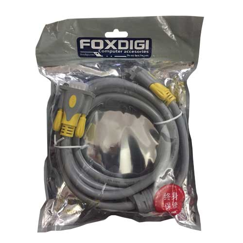 Cáp VGA 5m Foxdigi FDVGA5