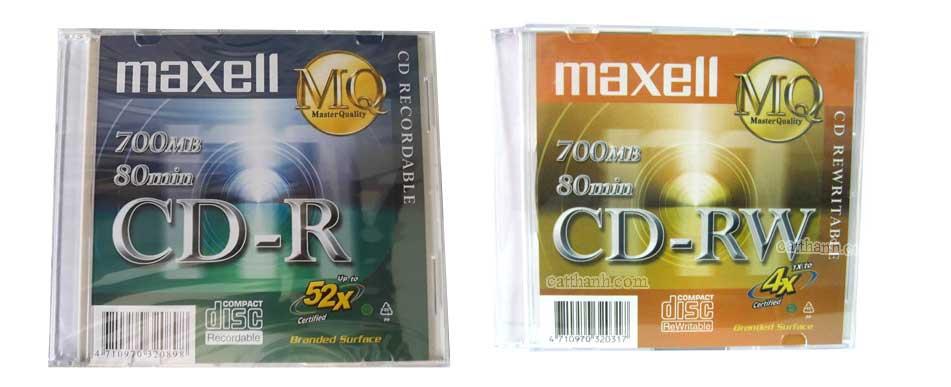 Đĩa CD-R Maxell MQ