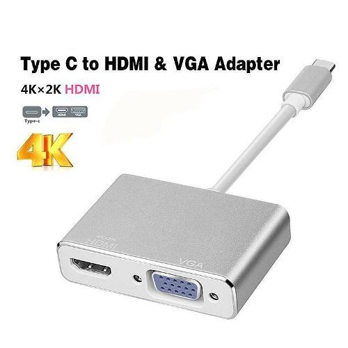 Cáp chuyển đổi USB 3.1 Type C sang HDMI và VGA