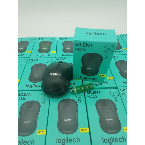 Chuột không dây Logitech M220